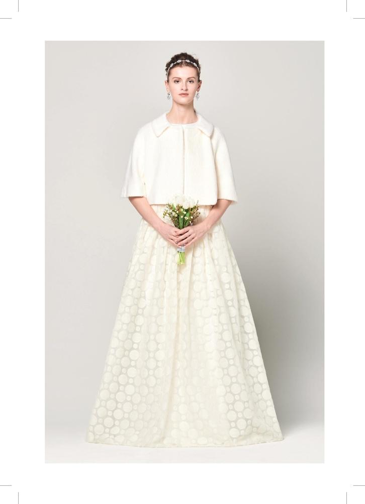 robe de mari e cape solisia de la marque max mara bridal disponible nice la boutique nicea. Black Bedroom Furniture Sets. Home Design Ideas