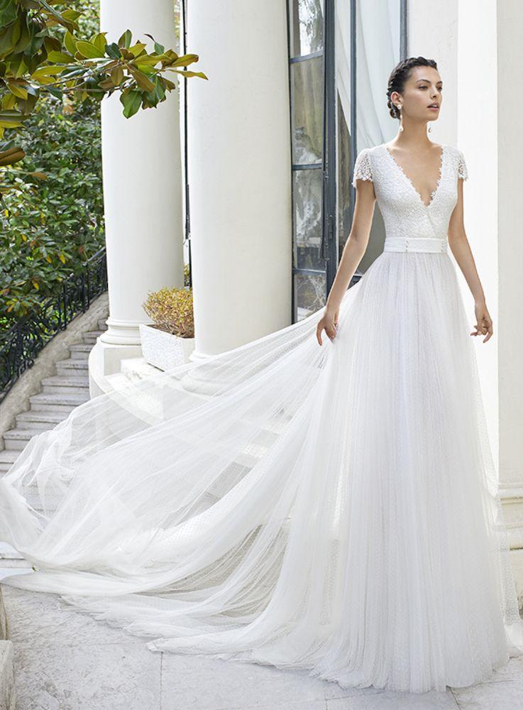 Robe De Mariée Malec De La Marque Rosa Clará Disponible à
